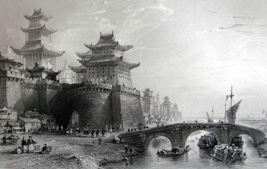西洋版画中的清朝北京城