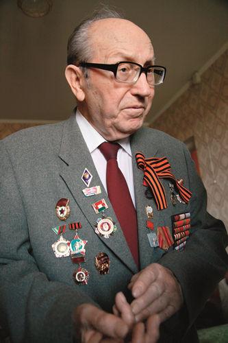 2015年5月8日,马尔钦科接受《环球人物》记者采访。