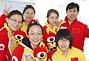 中国女子冰壶队做客:努力付出终有回报