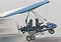 北京军区大比武战士驾驶三角翼低空飞行