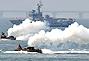韩国在东海岸举行海军射击演习
