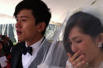 谢娜婚礼感动落泪