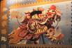 美国发行龙年邮票