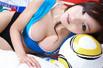 游戏美女助阵欧洲杯