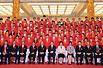 中国奥运军团成立