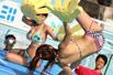 日本泳装女摔跤赛