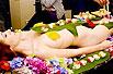 在日本做女体盛的屈辱经历