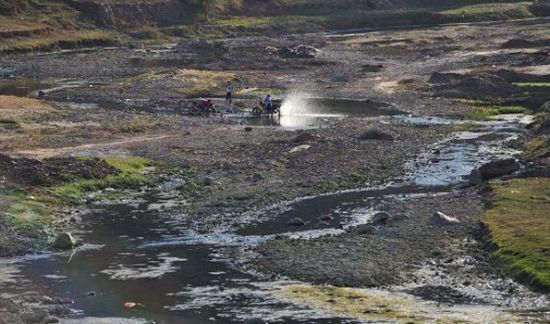 金沙江干旱几近断流