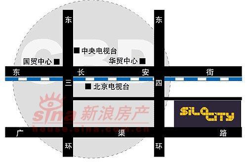 沿海・赛洛城 交通图