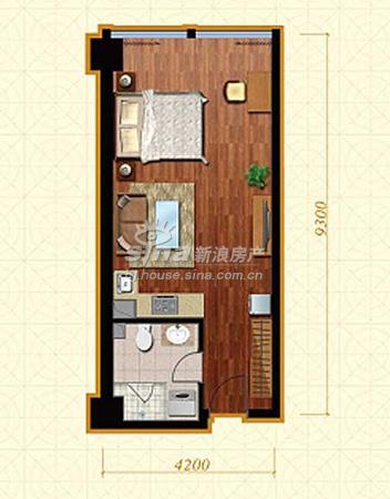 金澳国际53平一居室