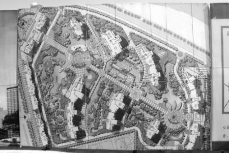 即将建设的希尔顿酒店效果图