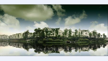 金字招牌8年炼造隆鑫别墅开始远航盛天悦地产景柳州市台图片