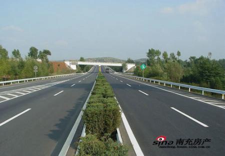南大梁高速公路开工 南充再添一条出川大通道