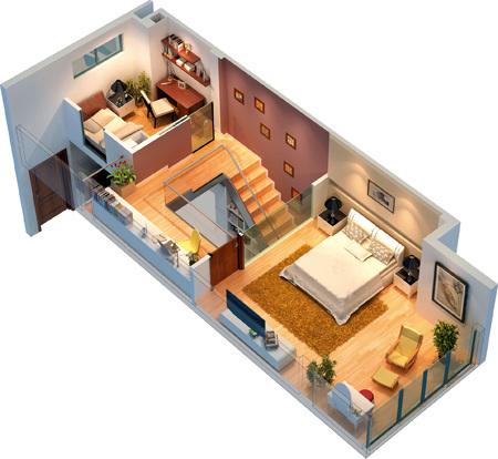 最不好的房子户型图