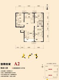 图为金隅・万科城项目户型图