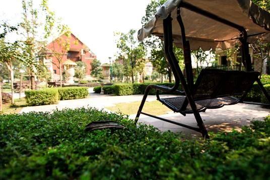 别墅,343㎡世家般豪宅空间,南北定制化私家庭院连接l型欧式花园内廊,7图片