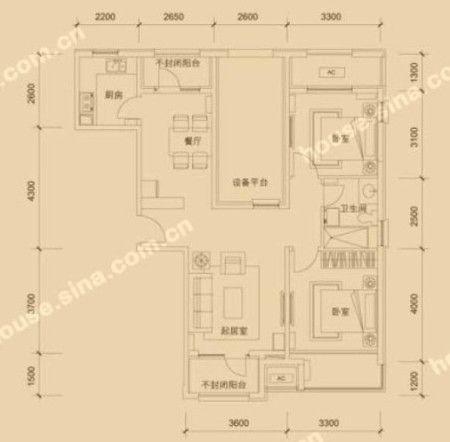 农村150平米户型图 150平米复式楼户型图 农村150平米图片