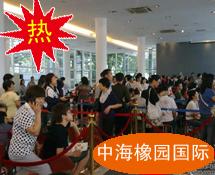 中海橡园国际开卖 买家通宵排队抢房