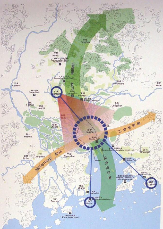 南沙成为粤港澳重点合作区