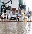 武广商圈被水淹