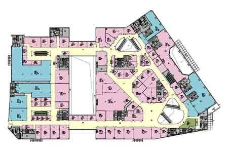 凯德龙之梦虹口商场二层平面图
