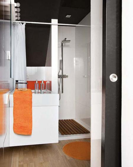 装修指南:45平长条小户型室内装修设计效果图(3)