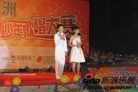 翠湖绿洲第三届青少年歌唱比赛决赛隆重举行_