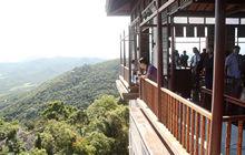 考察团第三站:亚龙湾鸟巢度假村