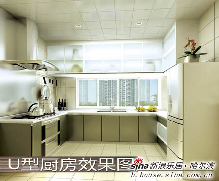 新浪房产讯(编辑/刘蕾)设计可以模仿,细节却难以复制,从创新u型厨房
