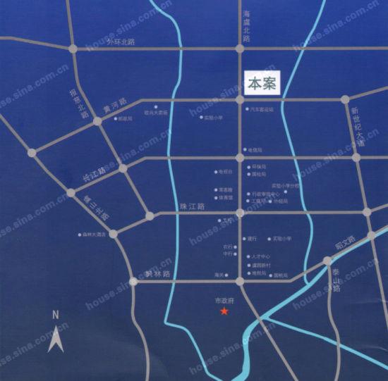 汇丰时代广场地图
