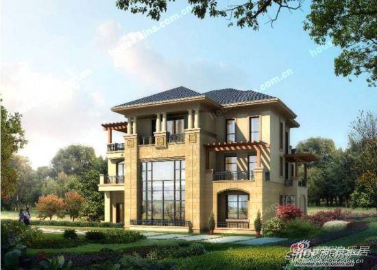 产品特有近7米挑高空间,入户门廊,联排别墅9.