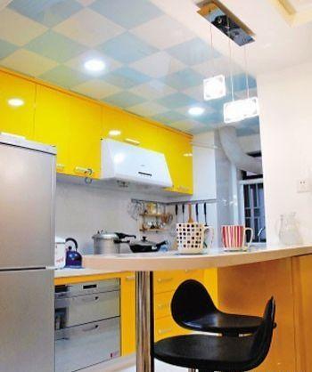 開放式酒吧廚房設計