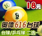 奥体616台球俱乐部