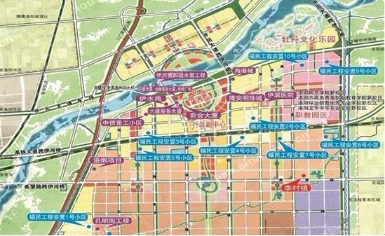 洛阳伊滨区规划图