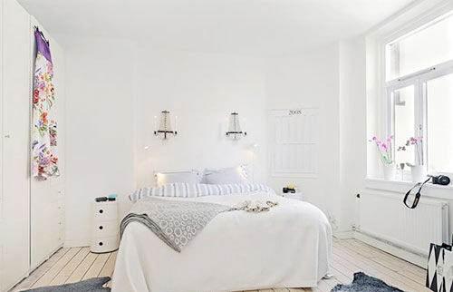 纯净梦幻空间 用白色元素渲染优雅家(2)
