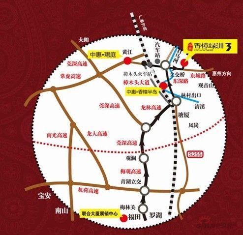 在东莞长安,樟木头,黄江等与深圳接壤的区域建设约10