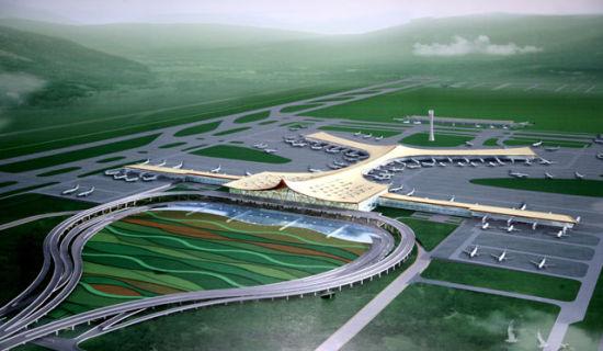 中国历史上的第二个飞机场;主城区仅剩的一块最大最