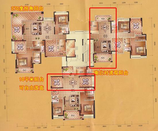 22座楼层平面图