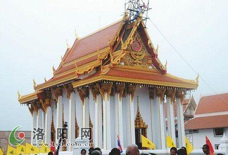 洛阳白马寺泰式佛殿大殿扩建完毕 增添异域美景图片