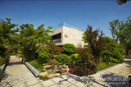 新中式别墅庭院景观