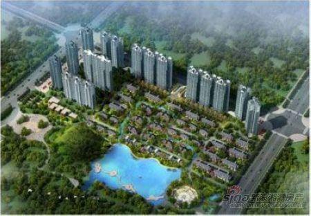 宝安江南城是纯中式大院别墅