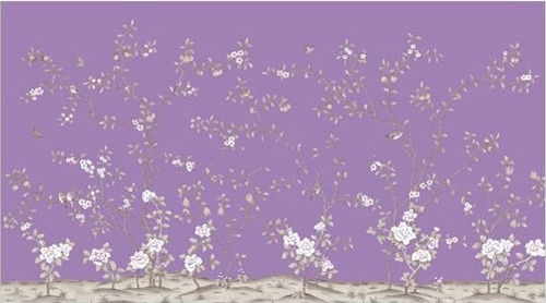 碎花手绘壁纸