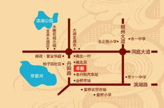 交通路线图