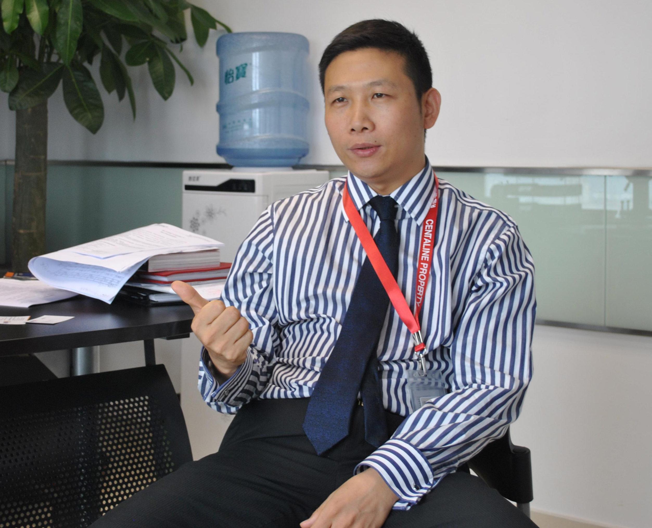 佛山中原地产董事总经理余鸿