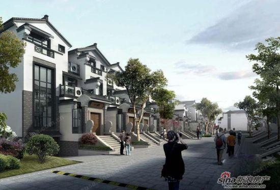 江南风情别墅,在这里您将体验中式丰厚的文化底蕴,传承千年的江南风格