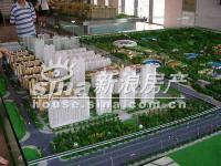 北京华侨城 实景图 规划沙盘4