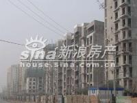 北京华侨城 实景图 工程进度实景1
