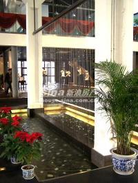 金都・杭城 实景图 售楼处水屏风
