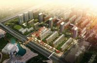 北京华侨城 规划图 鸟瞰图
