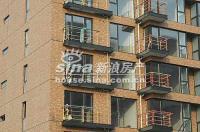 北京华侨城 实景图 玻璃与护栏